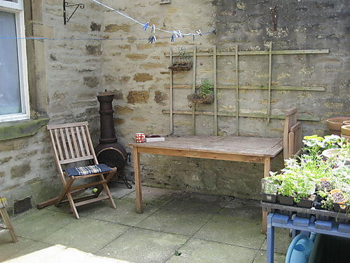 English Terraced House Backyard Ideas : Attic24 Back Yard