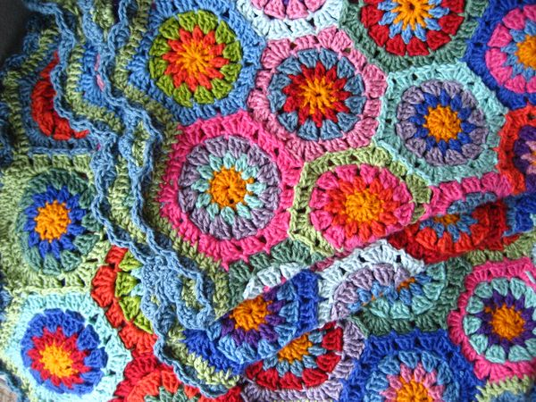 Attic24 The Hexagon Blanket Ta Dah