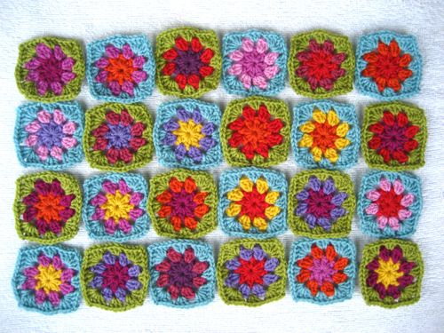 Attic24: Summer Garden Granny Square
