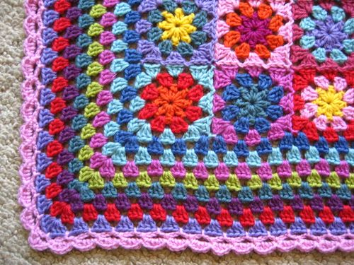 Attic24 Granny Blanket Edging