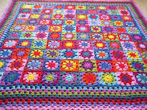 Granny Flower Blanket