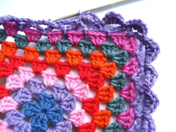 Attic24 Granny Blanket Edging