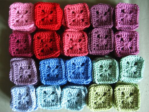 Solid Granny Square Blanket Pattern Solid Granny Squares