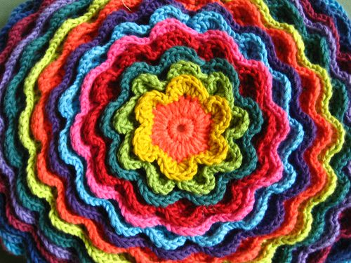 Attic24 Blooming Flower Cushion