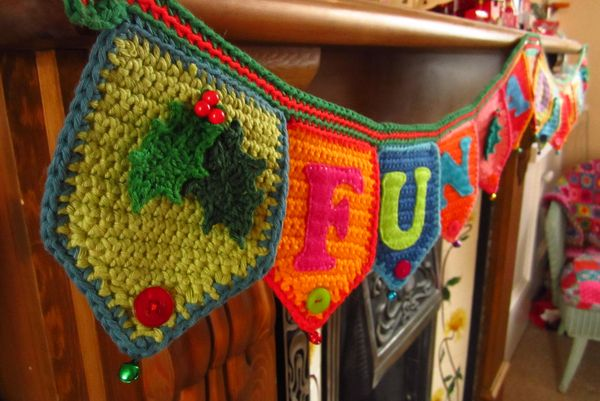 Attic24 Jolly Festive Bunting Ta Dah