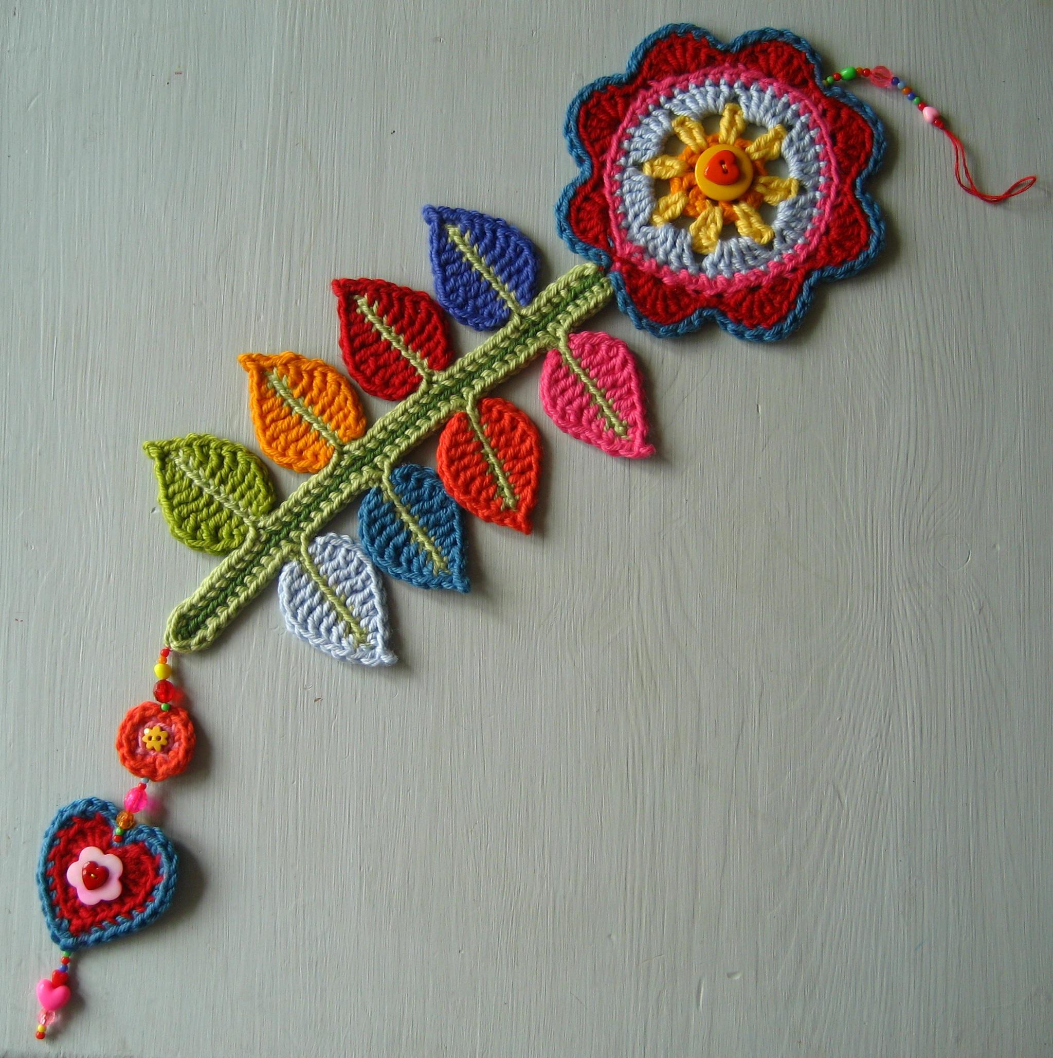 Вязание крючком изделия для дома