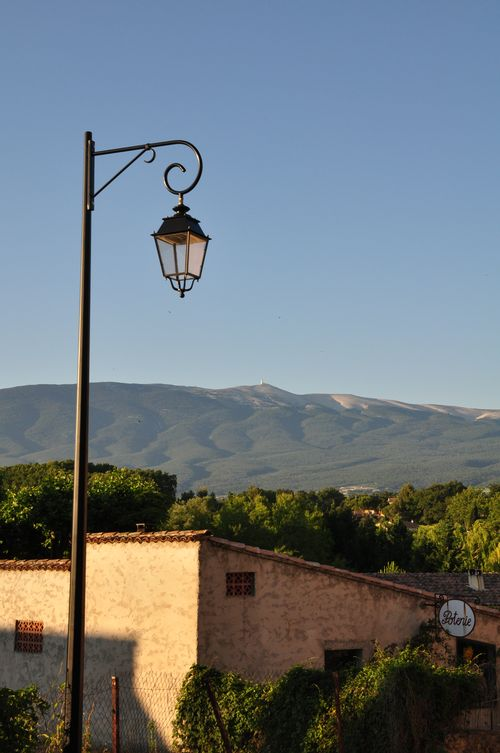 Mountain view from the village