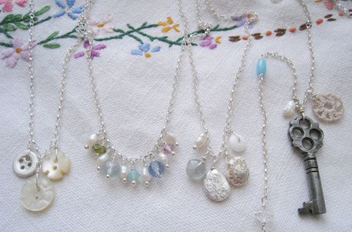 Four necklaces