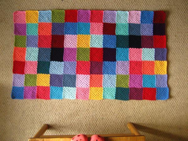 Attic24 Granny Patchwork Blanket Ta Dah