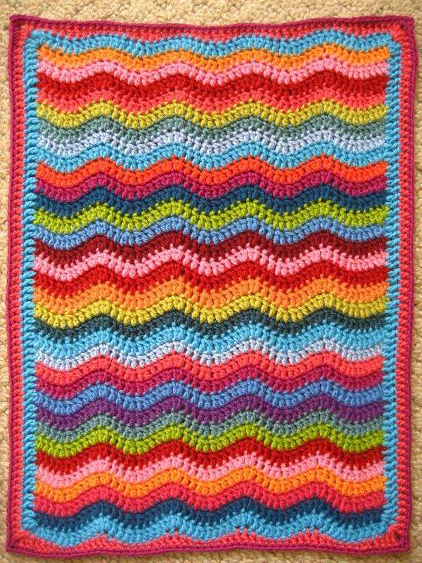 Attic24 Mini Ripple Doll Blanket Ta Dah