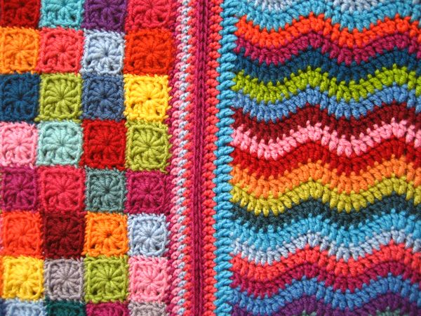 Attic24: Mini Ripple Doll Blanket :: Ta-dah!
