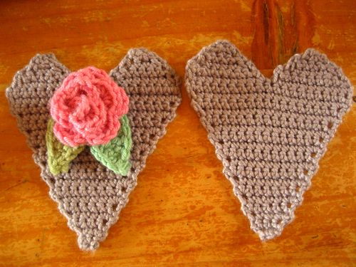 Attic24 Rose Heart Hanger