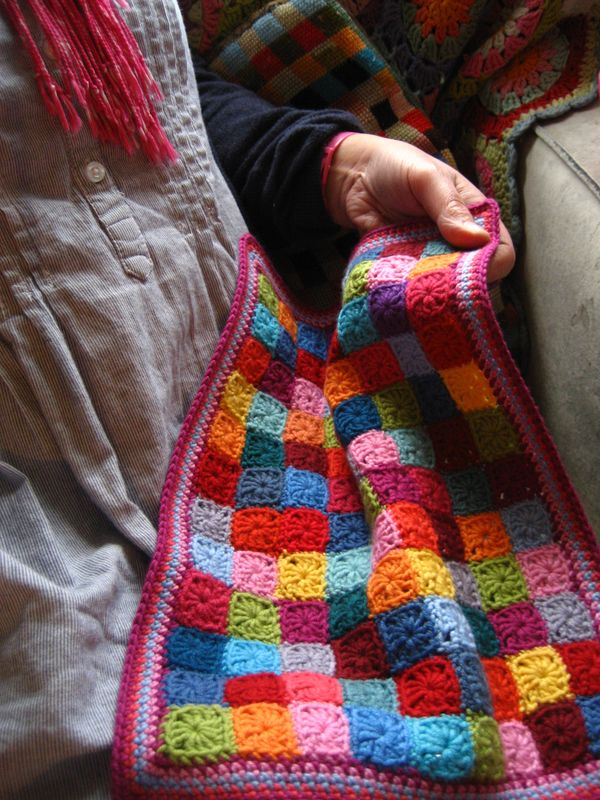 Attic24 Little Squares Doll Blanket Ta Dah