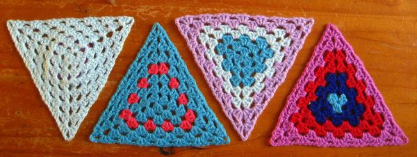 Attic24 Granny Bunting Triangles