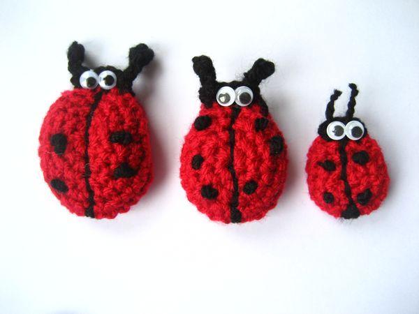 Attic24 Crochet Ladybirds