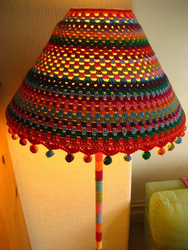Attic24 Funky Lamp Yarnbomb Ta Dah