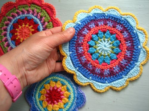 Attic24 Mandala Wheels For Yarndale