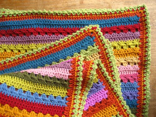 Attic24 Cosy Blanket Edging