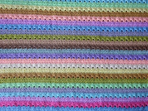 Attic24 Cupcake Stripe Blanket