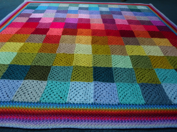 Attic24 Colourwash Granny Blanket Ta Dah