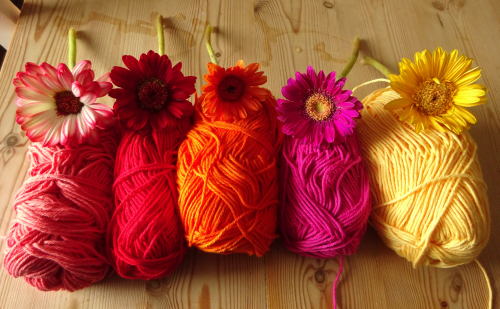 Wellwhat Did You Expect A Jug Of Vibrant Floral Blooms And Basket Cotton Yarn