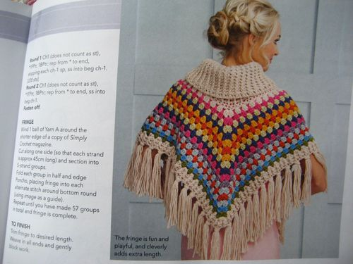 Knitting Pattern For Poncho With Cowl Neck : Cowl-neck Poncho Attic24 Bloglovin