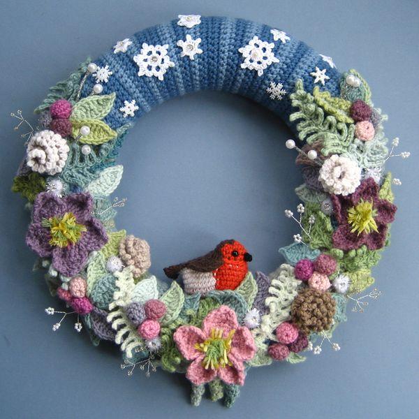 Attic24 Winter Wreath Ta Dah