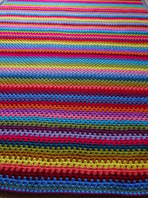Attic24 Sunny Granny Stripe Blanket Ta Dah