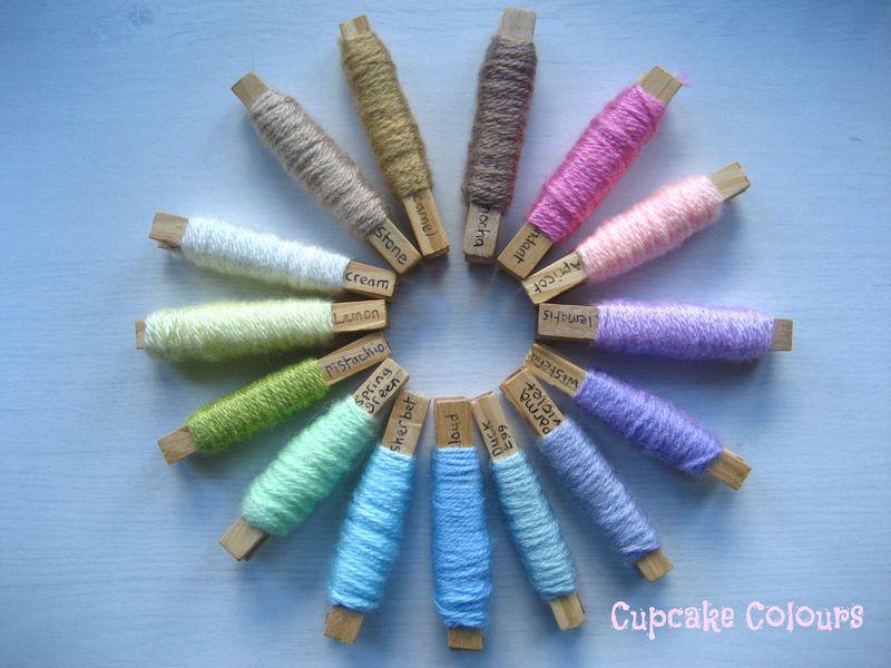 Cupcake Colours1