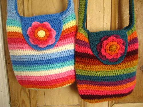 Crochet Bag And Pattern : Attic24: Crochet
