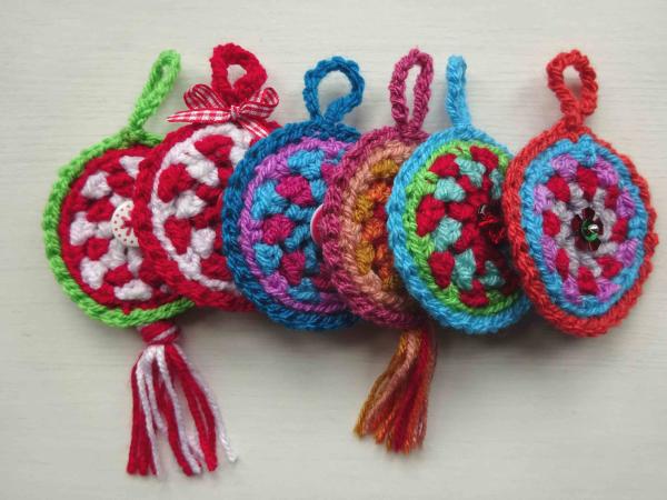 Attic24 Festive Crochet Decorations