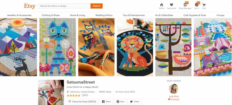 SatsumaStreetShop
