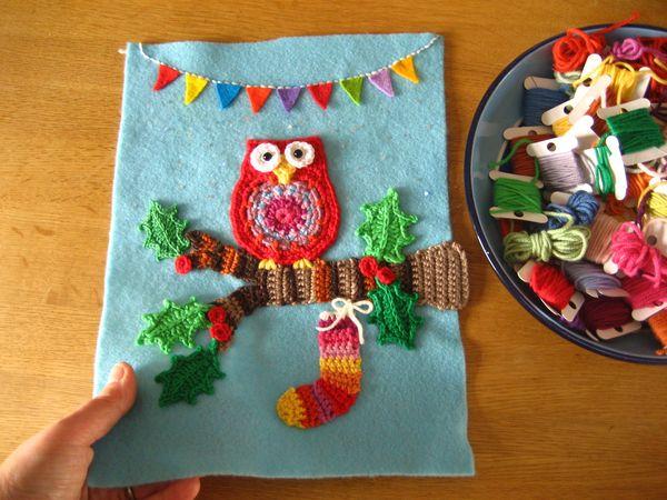 Attic24 Crochet Christmas Card