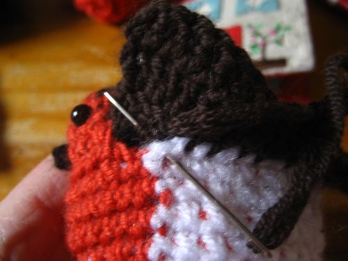 Knitted Robin Pattern For Christmas : Attic24: Crochet