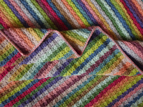 attic 24 blankets. i really like the narrow edge created for hydrangea blanket but if you have enough yarn might to add a few more rounds of linen stitch attic 24 blankets s