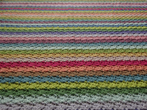 attic 24 blankets. this is my pattern for a very simple but beautiful striped blanket which has oodles of surface texture and lovely dense feel despite the complex look attic 24 blankets 4