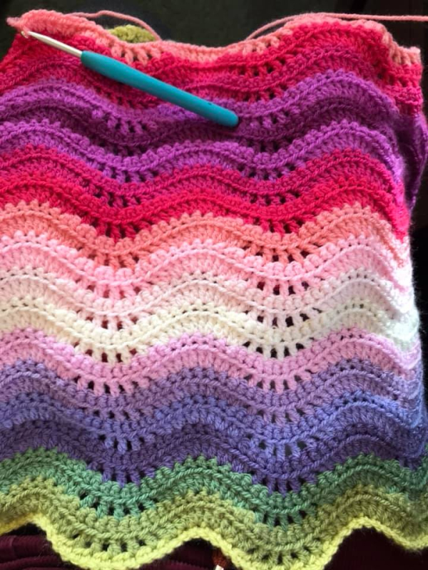 Attic24 Sweet Pea Blanket Cal Part 2