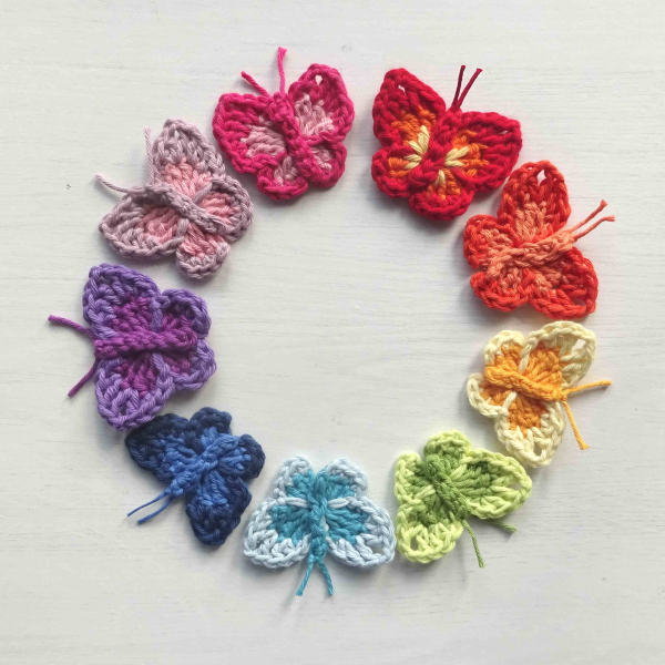 Attic24 Crochet Butterflies
