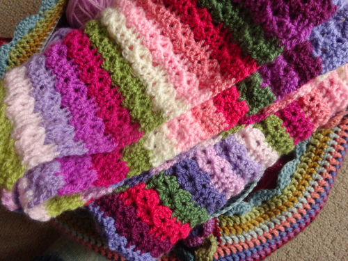Attic24: Sweet Pea Blanket CAL :: Part 2