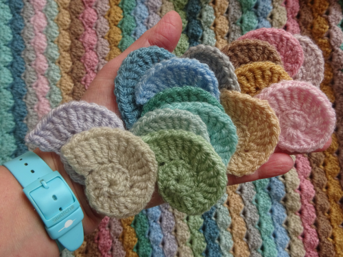 Nursery Bedding Handmade Classic White And Blu Blanket Granny Squares Forever Strong Packing