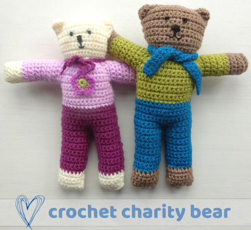 Amigurumi Tiny Bear Crochet Free Pattern - Crochet & Knitting | 459x500