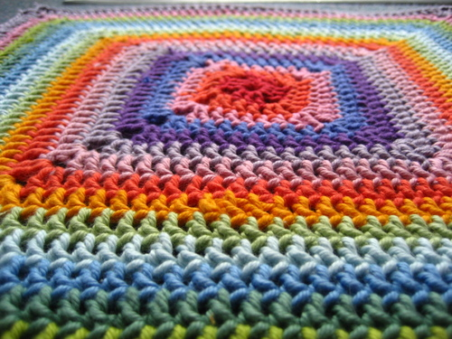 Free Crochet Pattern: Star Flower Granny Square